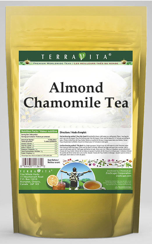 Almond Chamomile Tea