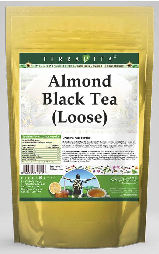 Almond Black Tea (Loose) (Deluxe Blend)