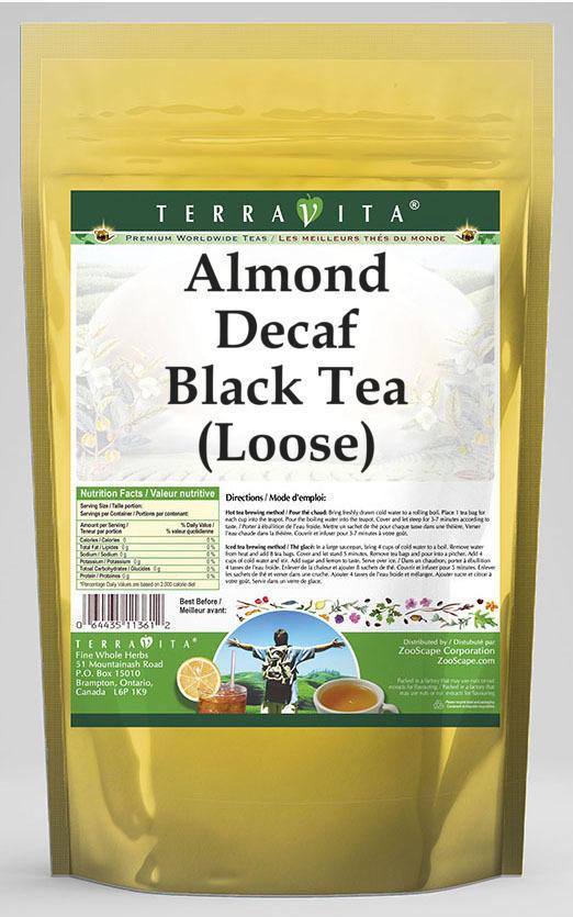 Almond Decaf Black Tea (Loose)