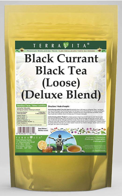 Black Currant Black Tea (Loose) (Deluxe Blend)