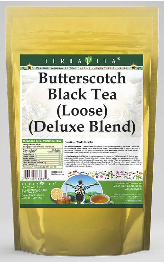 Butterscotch Black Tea (Loose) (Deluxe Blend)