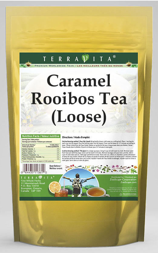Caramel Rooibos Tea (Loose)