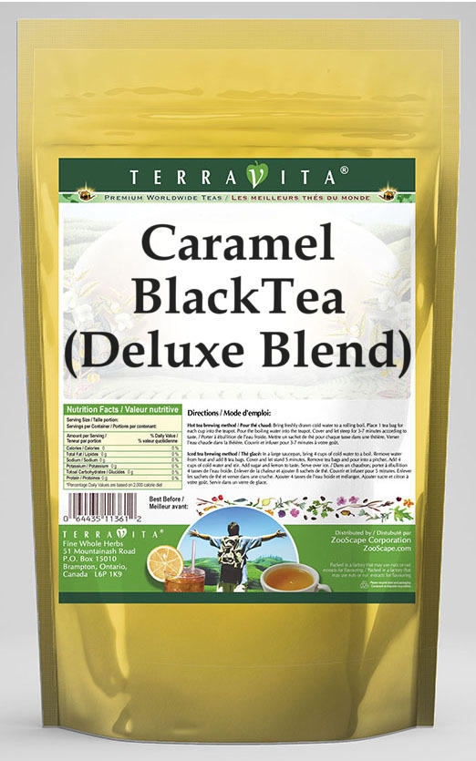 Caramel Black Tea (Deluxe Blend)