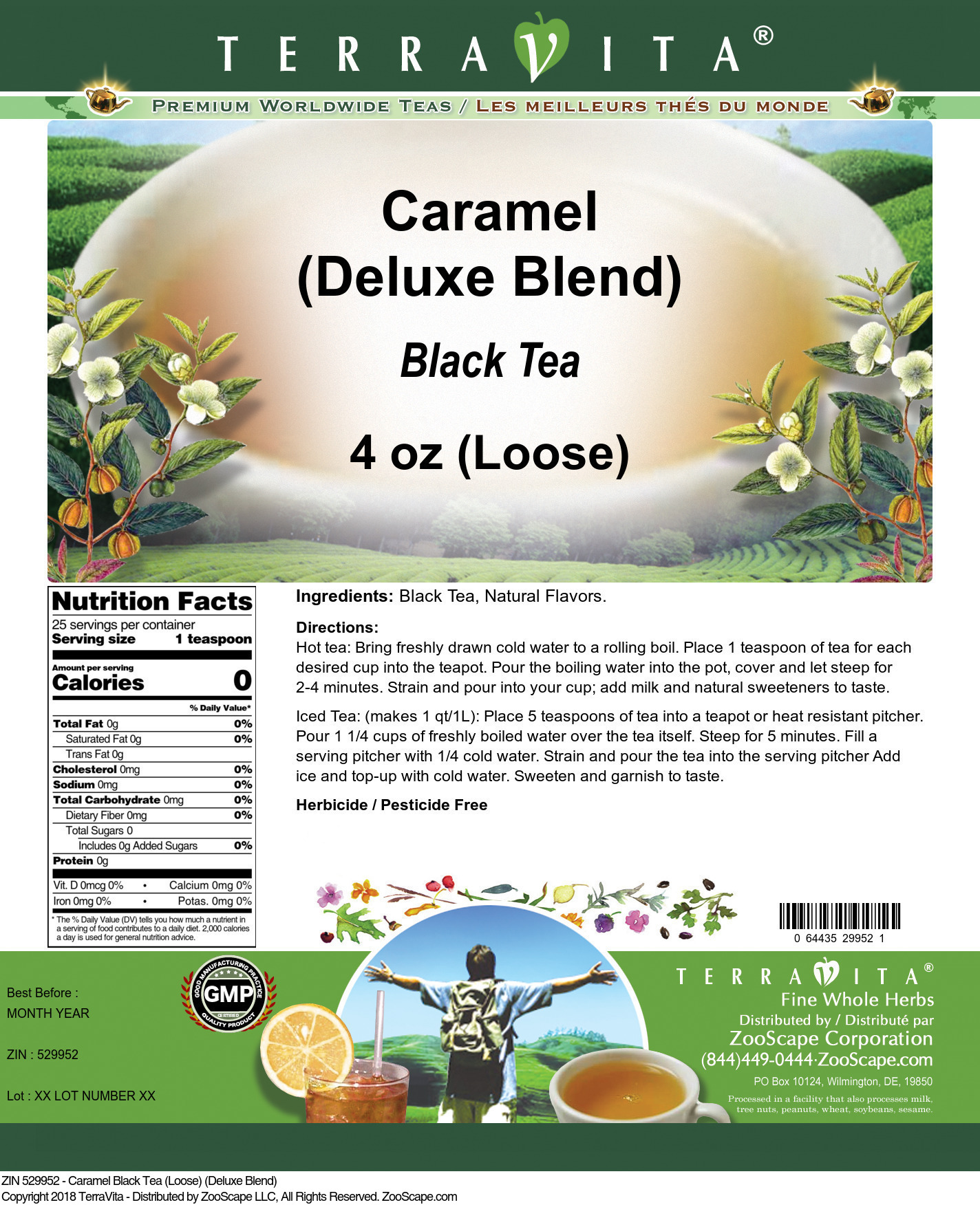 Caramel Black Tea (Loose) (Deluxe Blend)