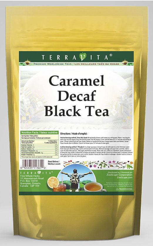 Caramel Decaf Black Tea