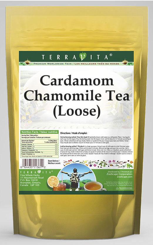 Cardamom Chamomile Tea (Loose)