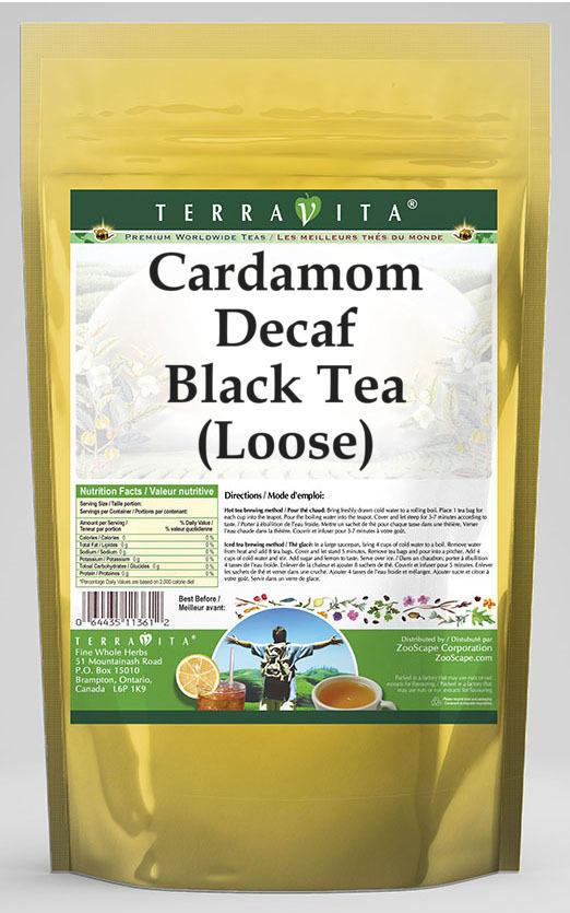 Cardamom Decaf Black Tea (Loose)