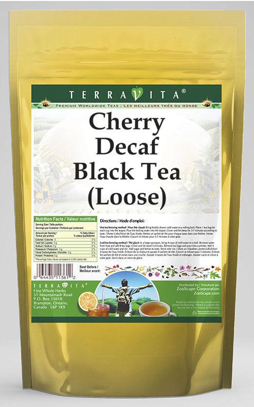 Cherry Decaf Black Tea (Loose)