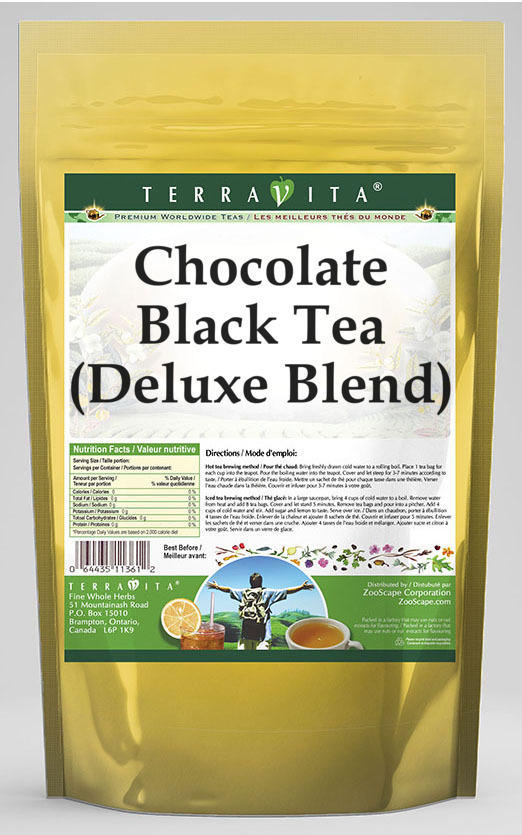 Chocolate Black Tea (Deluxe Blend)