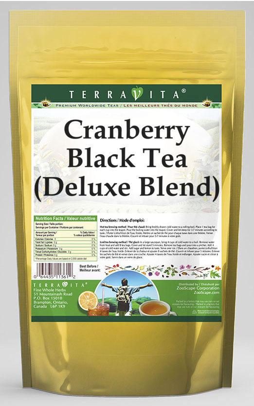 Cranberry Black Tea (Deluxe Blend)