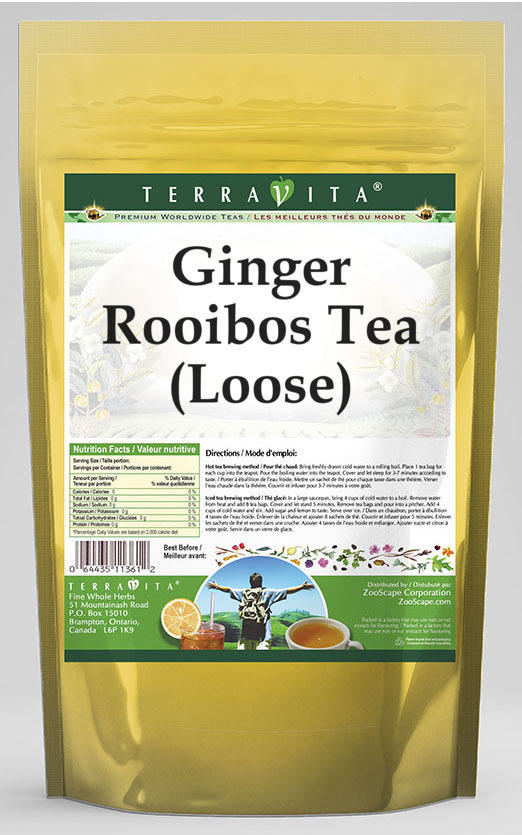 Ginger Rooibos Tea (Loose)