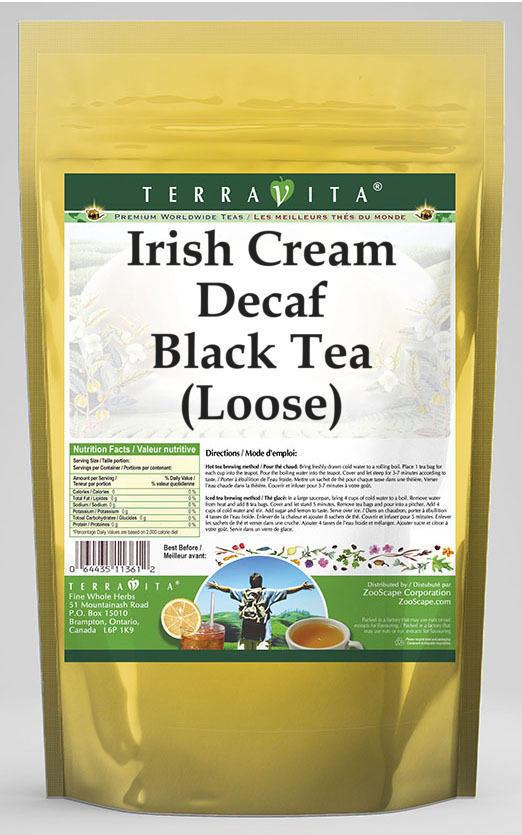 Irish Cream Decaf Black Tea (Loose)