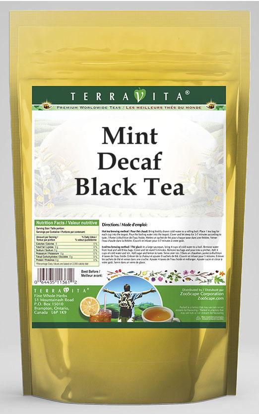 Mint Decaf Black Tea