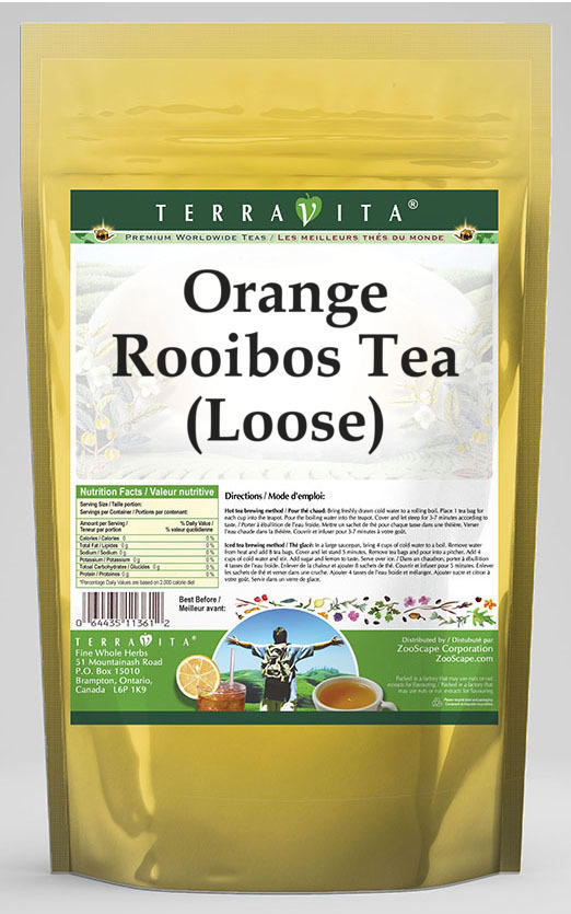 Orange Rooibos Tea (Loose)