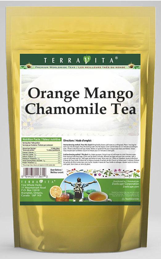 Orange Mango Chamomile Tea