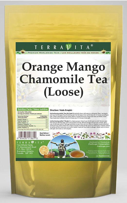 Orange Mango Chamomile Tea (Loose)