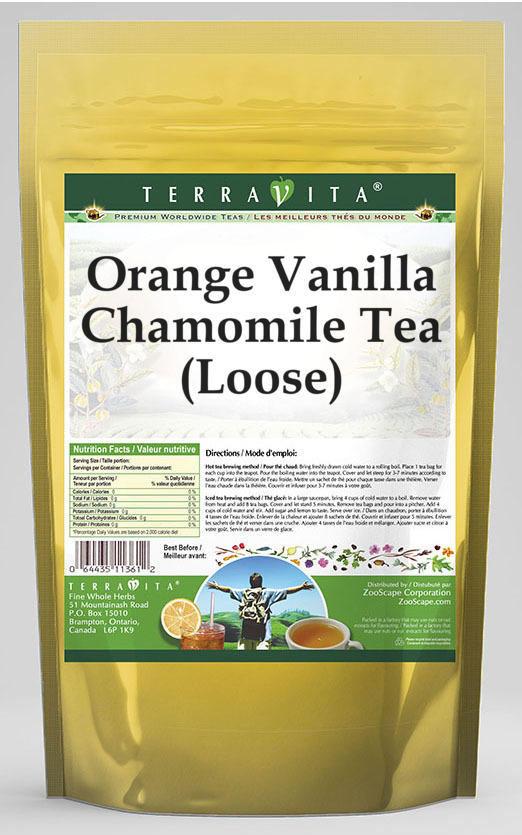 Orange Vanilla Chamomile Tea (Loose)