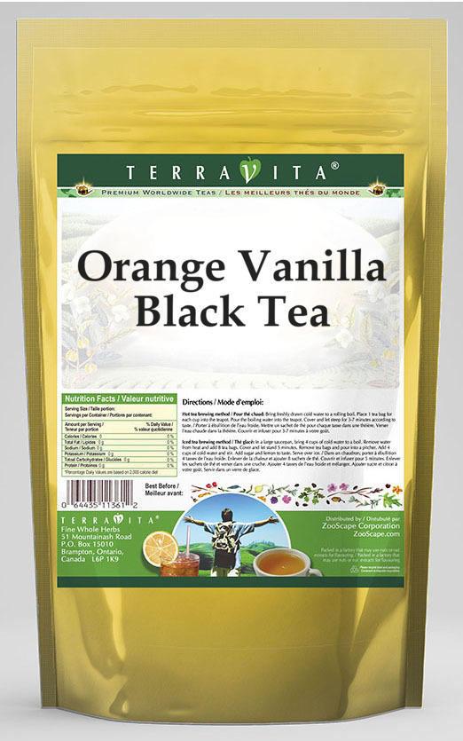 Orange Vanilla Black Tea