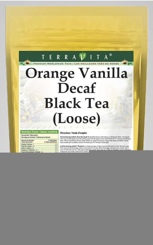 Orange Vanilla Decaf Black Tea (Loose)