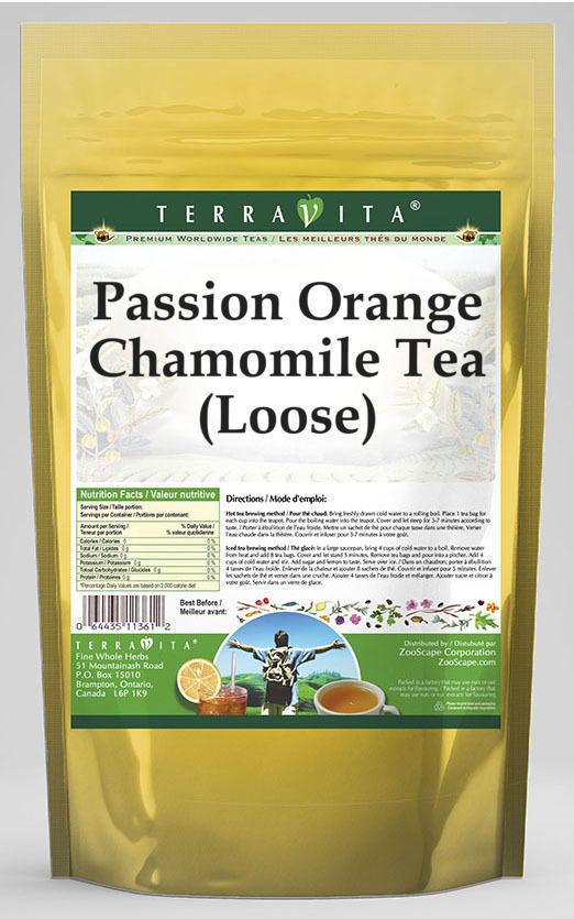 Passion Orange Chamomile Tea (Loose)