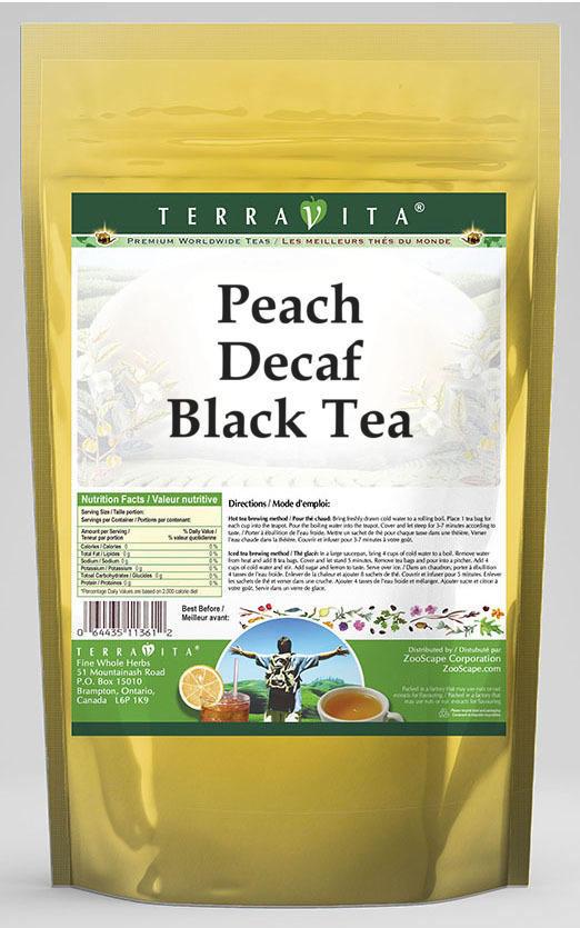 Peach Decaf Black Tea