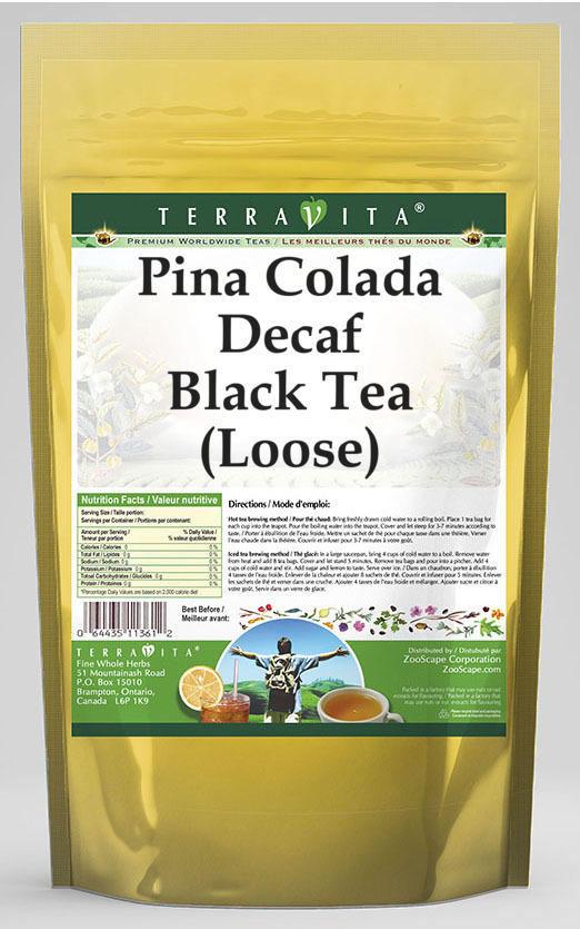 Pina Colada Decaf Black Tea (Loose)