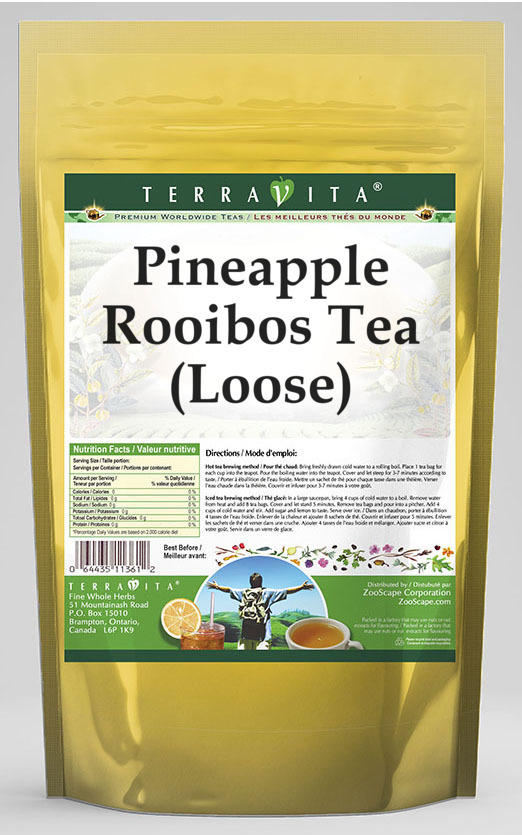 Pineapple Rooibos Tea (Loose)