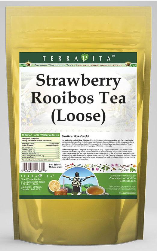 Strawberry Rooibos Tea (Loose)