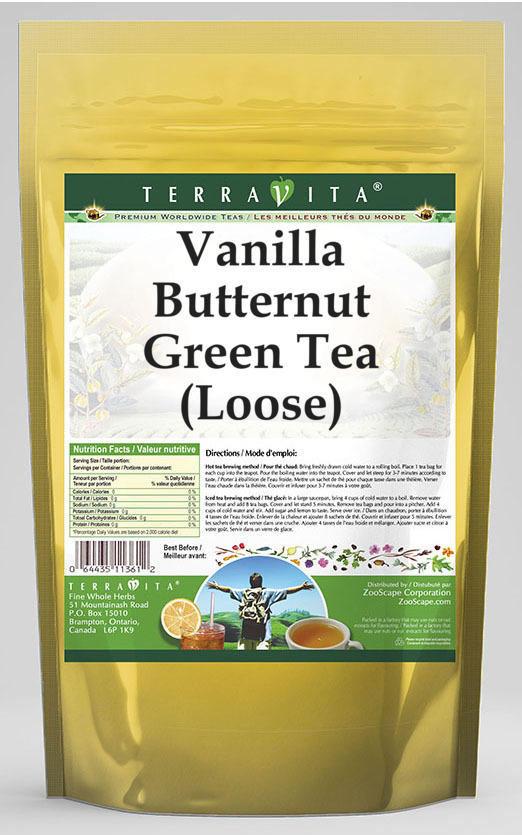 Vanilla Butternut Green Tea (Loose)