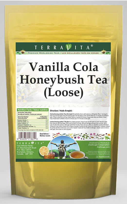 Vanilla Cola Honeybush Tea (Loose)