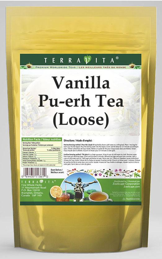 Vanilla Pu-erh Tea (Loose)