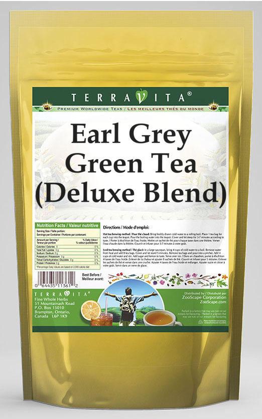 Earl Grey Green Tea (Deluxe Blend)