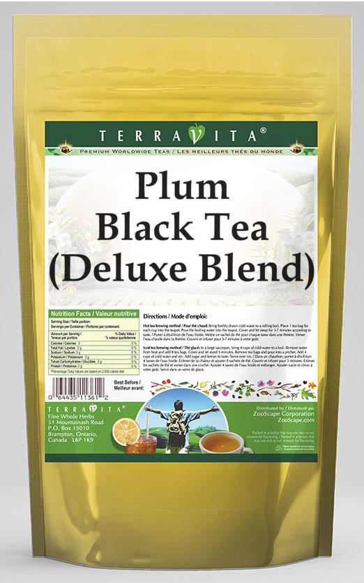 Plum Black Tea (Deluxe Blend)