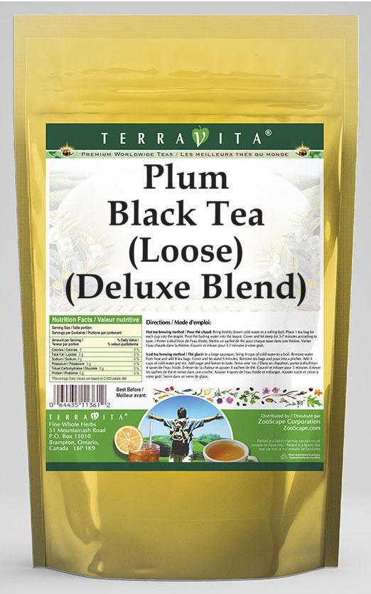 Plum Black Tea (Loose) (Deluxe Blend)