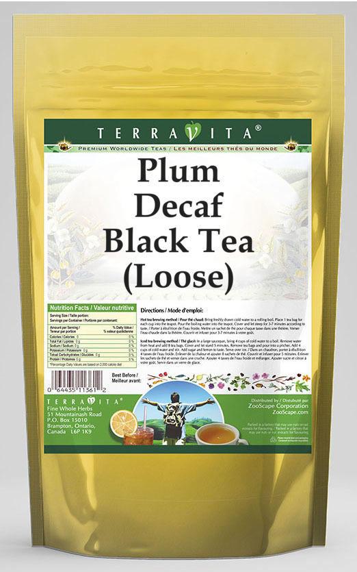 Plum Decaf Black Tea (Loose)