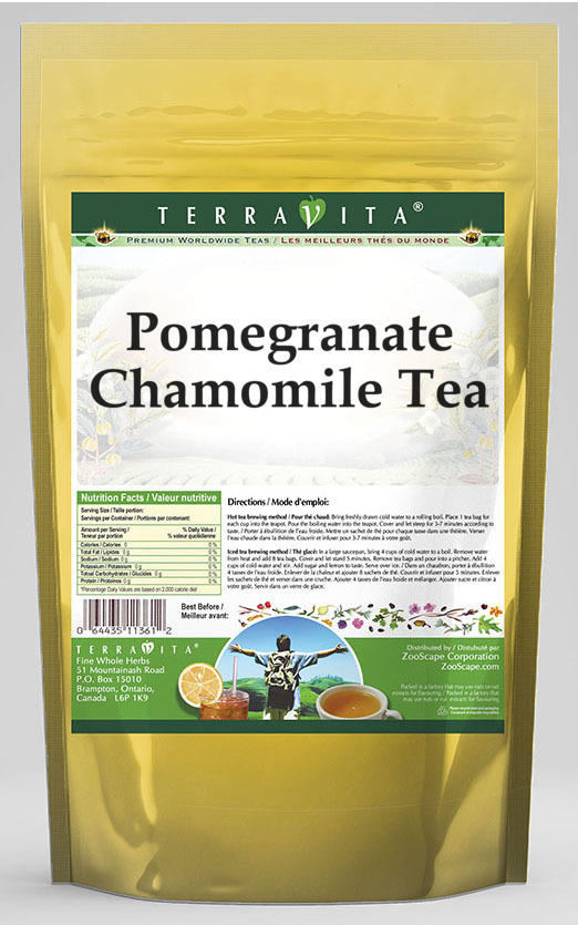 Pomegranate Chamomile Tea