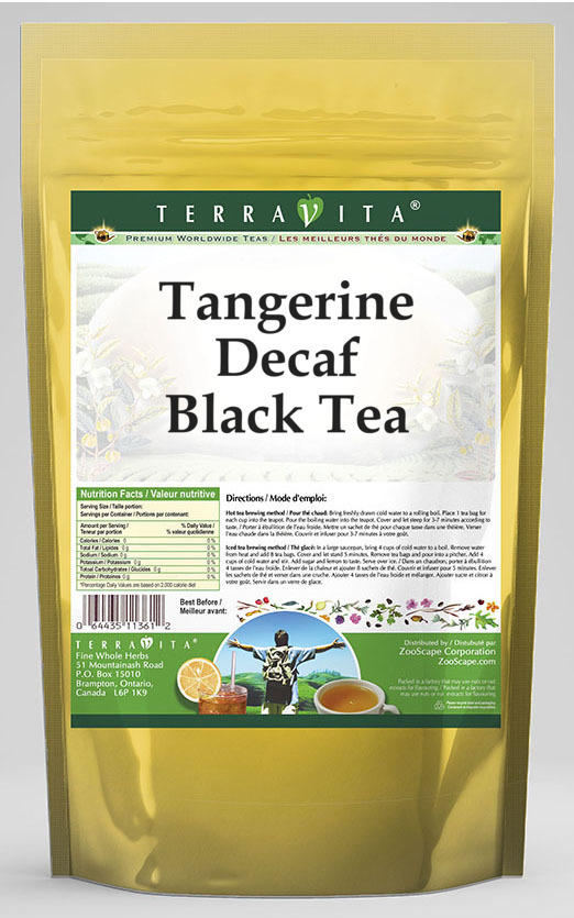 Tangerine Decaf Black Tea