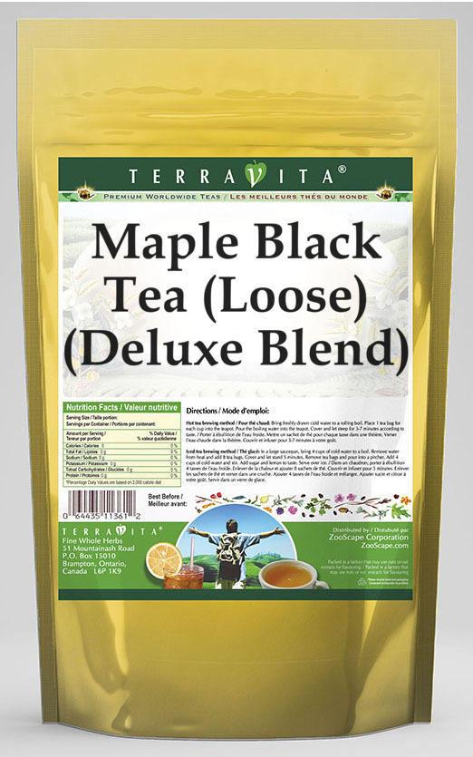 Maple Black Tea (Loose) (Deluxe Blend)
