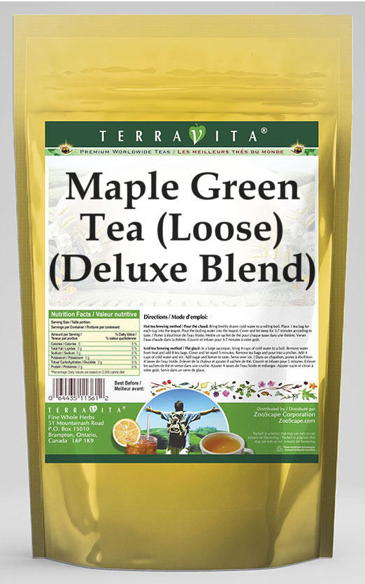 Maple Green Tea (Loose) (Deluxe Blend)