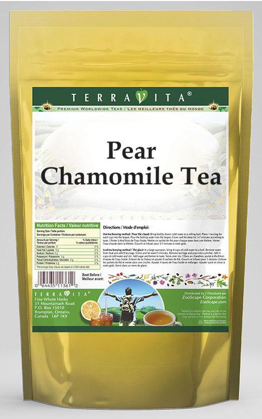 Pear Chamomile Tea