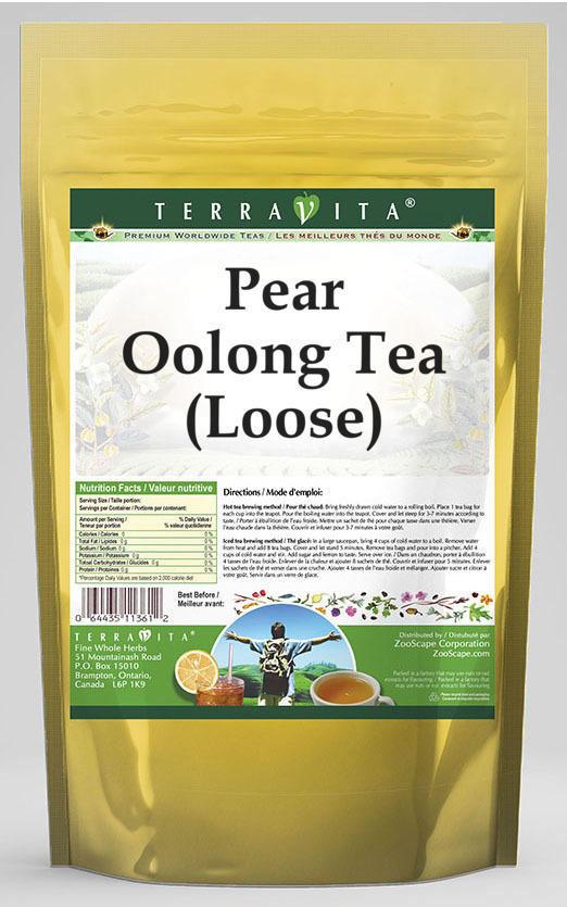 Pear Oolong Tea (Loose)
