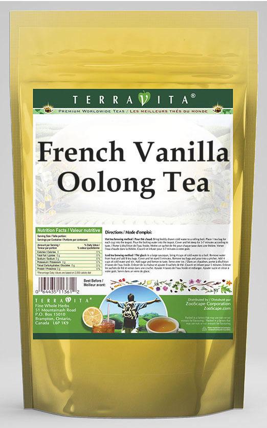 French Vanilla Oolong Tea