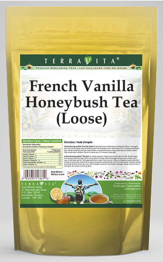 French Vanilla Honeybush Tea (Loose)
