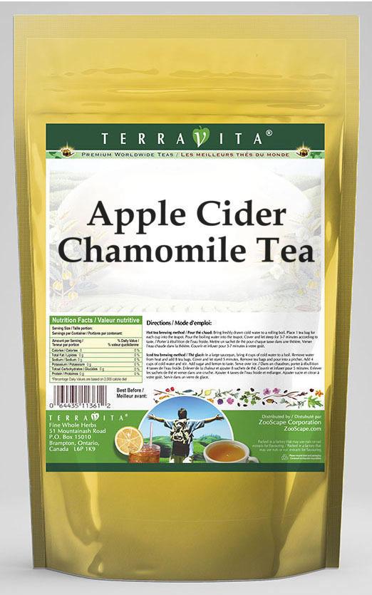 Apple Cider Chamomile Tea