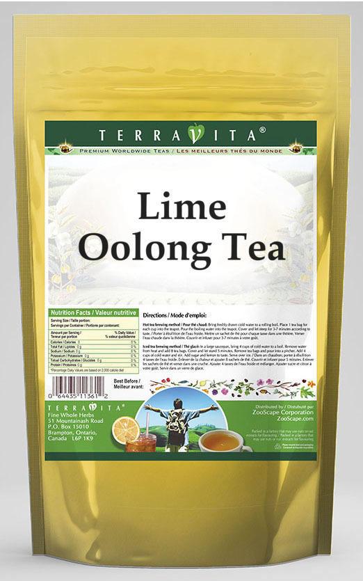 Lime Oolong Tea