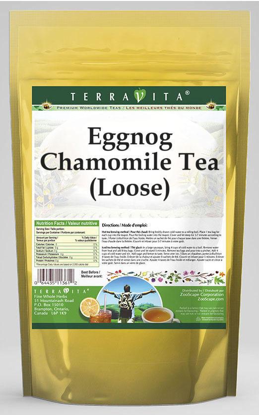 Eggnog Chamomile Tea (Loose)