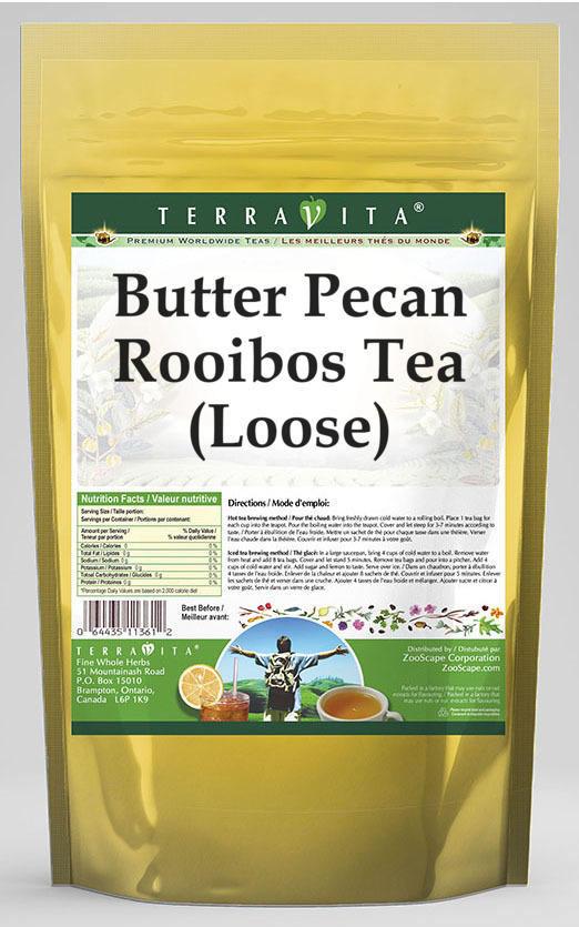Butter Pecan Rooibos Tea (Loose)