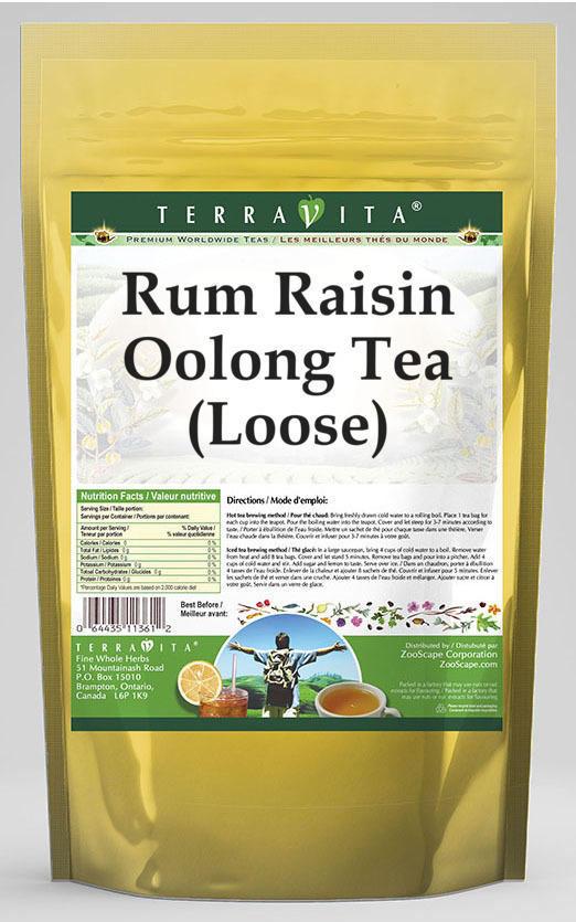 Rum Raisin Oolong Tea (Loose)