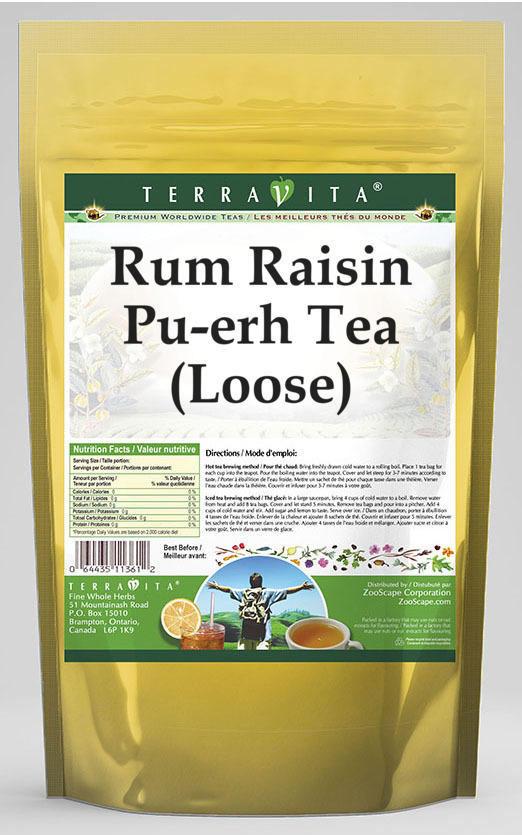 Rum Raisin Pu-erh Tea (Loose)