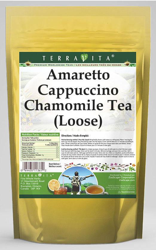 Amaretto Cappuccino Chamomile Tea (Loose)